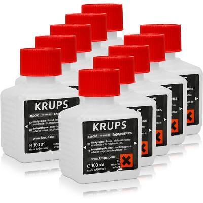 5x Krups Flüssigreiniger XS 9000 für Cappuccino-Systeme 200 ml
