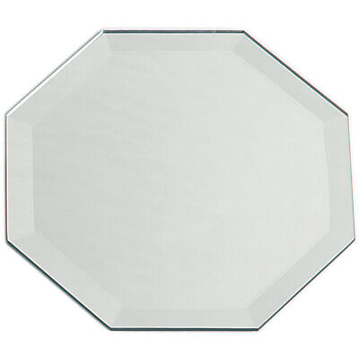 Darice Octagon Glass Mirror With Bevel Edge 8 Inches