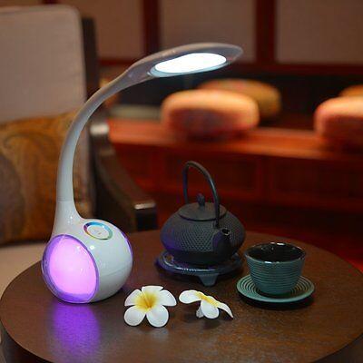 Dimmbar Touch LED RGB Leselampe Schreibtischlampe Leuchte Tisch Büroleuchte 90°