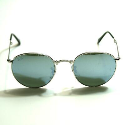 Ray Ban Round Metal Folding Silver Sunglasses #RB3532 003/30 50 20 3N (Ray Ban Round Folding)