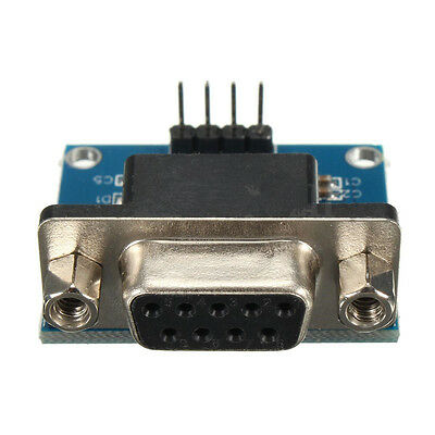RS232 To TTL Converter Module Serial Module DB9 Connector 3.3V-5.5V Arduino pi