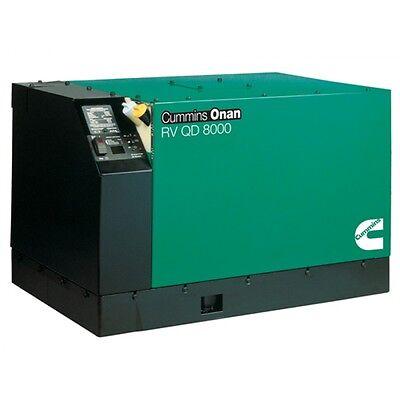 Manufacturer New Cummins Onan 8.0 HDKAK-1046 Diesel Generator RV QD 8000 Quiet 8kW