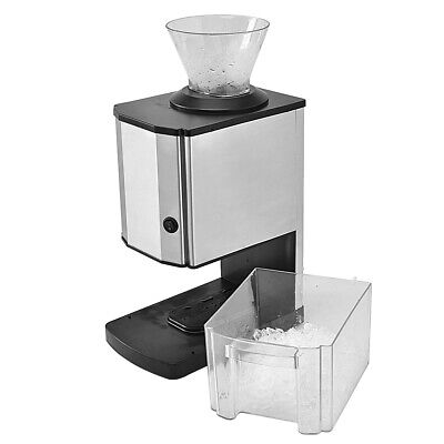 Topbuy Electric Ice Crusher Machine Stainless Steel Shaved Ice Crusher