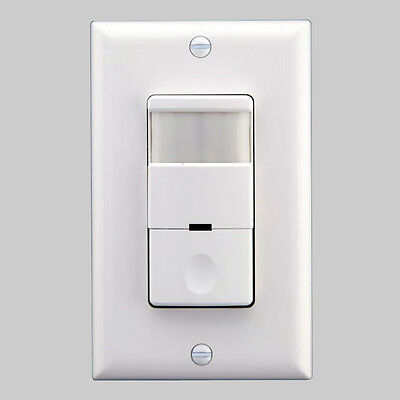 277v Light Commercial Pir Occupancy Motion Sensor Detector Switch 220v White