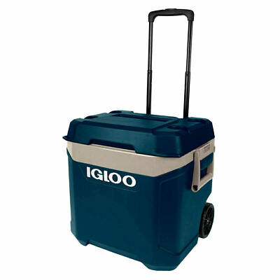 Igloo Maxcold 58 Litre Roller Wheeled (62 US QT) Cool Box 98 Cans