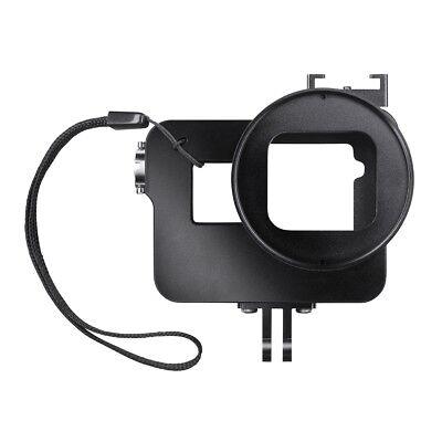 Black Magic Filter (mantona Magic Alu Cage Gehäuse für GoPro Hero5 Black, inkl. Adaptern, UV-Filter)