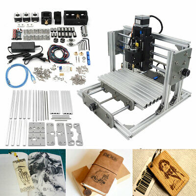 3 Axis Diy Cnc Usb Desktop Engraving Machine Pcb Wood Milling Carving Engraver
