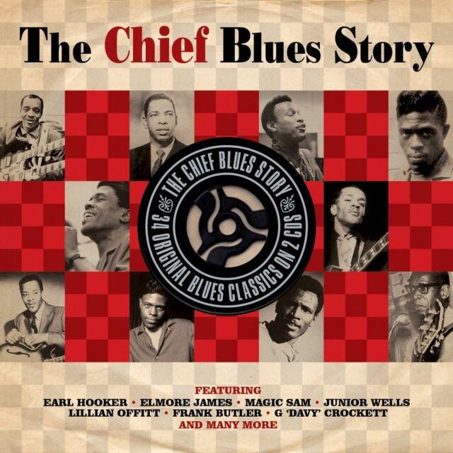 CHIEF BLUES STORY (EARL HOOKER, ELMORE JAMES, MAGIC SAM, ...) 2 CD NEU