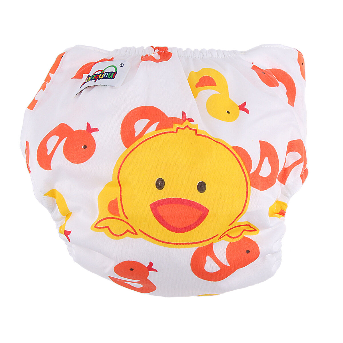 5pcs+ 5INSERT Lovely printing Adjustable Reusable Washable Cloth Diaper Nappies  Little Duck