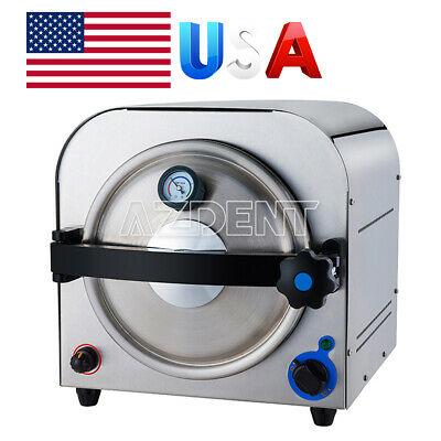 Dental Lab 14l Autoclave Steam Sterilizer Medical Sterilization Equipment