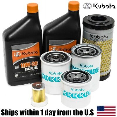 Genuine Oem Kubota B26 B7500 B7510 B7610 B2410 Hst Filter Oil Maintenance Kit