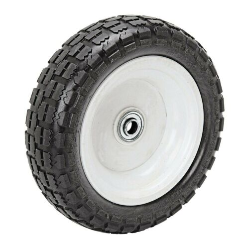 Replacement Cart Tire Wheel 10-Inch 300 Lb. Capacity Wagons Carts Wheelbarrows
