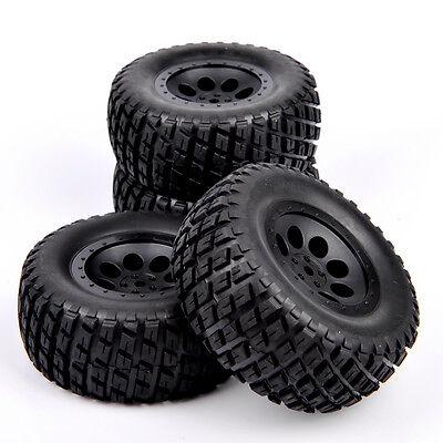 12mm Hex 1:10 Scale RC Short Course Truck Off-road Argyle Tire & Wheel 4PC