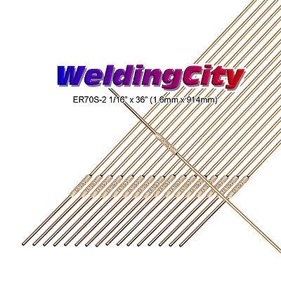 Weldingcity Er70s-2 5-lb Mild Steel Tig Welding Filler Rod 116 X36 5-lb