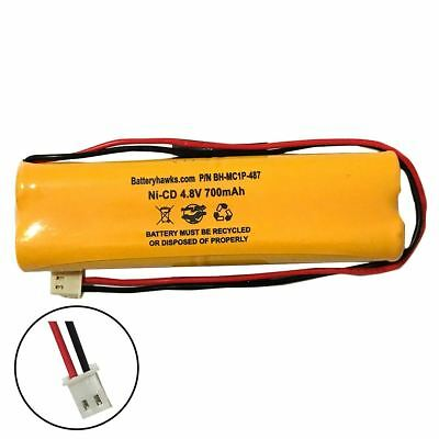 4.8v 700mah Ni-cd Battery Pack Replacement For Emergency Exit Light