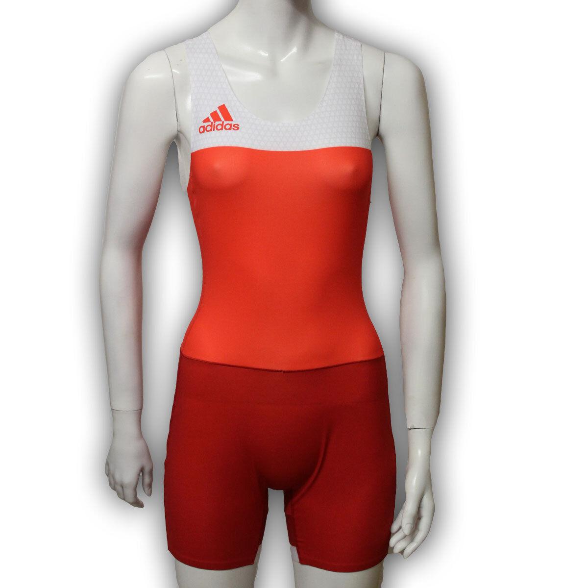 Adidas Laufanzug Sprintanzug Wrestling Einteiler 32 34 36 38 40 42 44 48 50 52