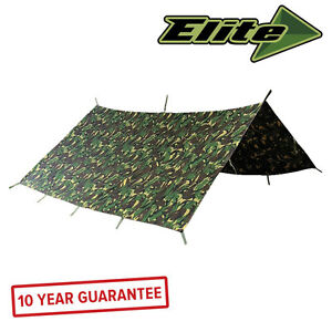 Elite Evolution Military Basha 3 x 3m British DPM Camo Shelter Waterproof
