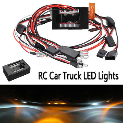 1:10 RC 2.4G PPM FM LED Light Kit Brake+Headlight+Signal For HSP Car Truck