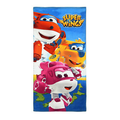 Drap de bain SUPER WINGS