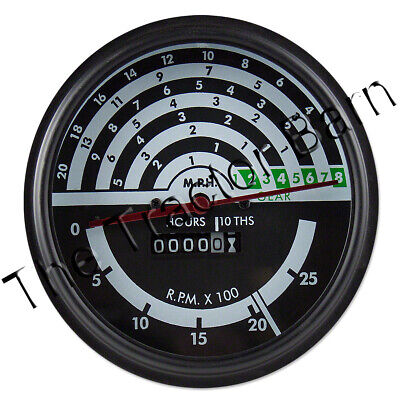 John Deere 1020 2020 2030 Tachometer Ar50954 Ar65445 At159296 At20641 T22409