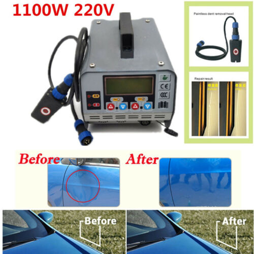 1100W Induction Heater Machine Hot Box Car Removing Paintless Dent Repair Tool