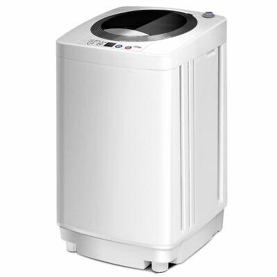 Full-Automatic Laundry Wash Machine W/Drain Pump 2 in1 Washe