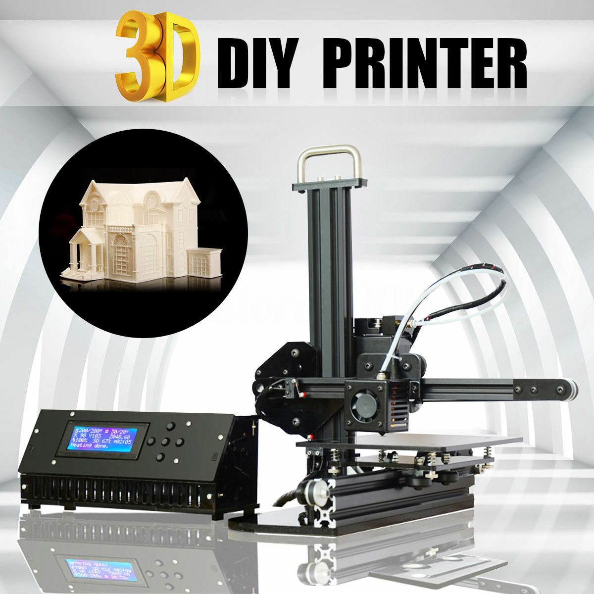 Details about Tronxy X1 3D Printer DIY Kit Upgraded Quality High Precision  Desktop +8G SD Card