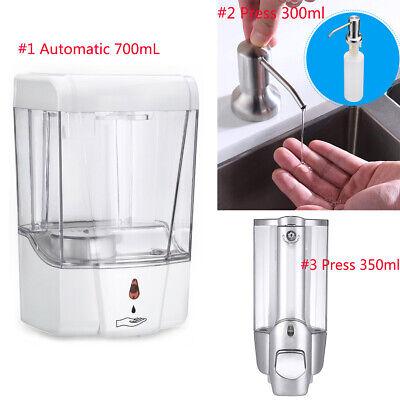 Automatic Liquid Soap Dispenser 700ml 350ml 300ml Sensor Wall Mount Sanitizer