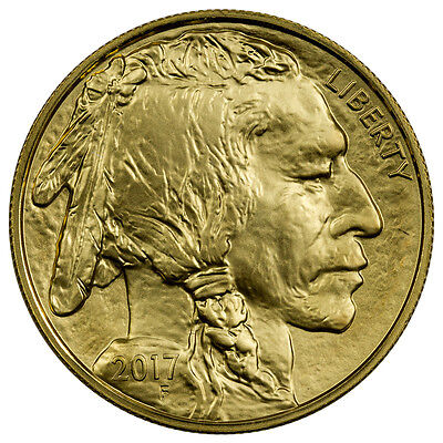 2017 $50 1 Troy oz. American Gold Buffalo BU Coin SKU44848