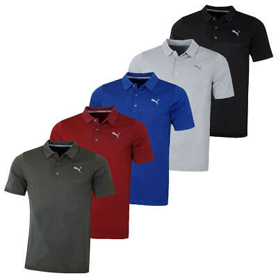 Puma Golf Mens Evoknit Dassler Short Sleeve DryCELL Polo Shirt 47% OFF RRP