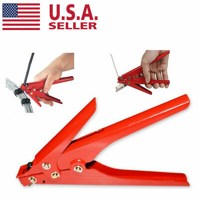 Us Heavy Duty Cable Zip Ties Automatic Tension Cutoff Gun Tool 120lb.to175lb