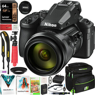 Nikon COOLPIX P950 Compact Digital Camera with 83x Optical Zoom Lens Pro Bundle