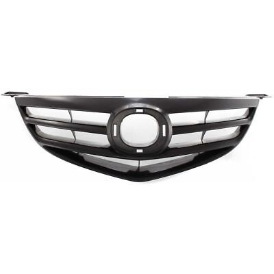 - NEW FOR MAZDA 3 MA1200171 FRONT GRILLE MATTE BLACK SPORT TYPE SEDAN FITS 2004-06