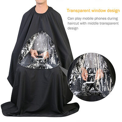 Pro Hair Cutting Cape Salon Hairdressing Viewing Window Gown Barber Cloth