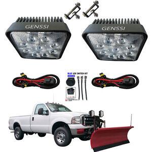 led truck lite snow plow light kit w harness plow light kit brand new. Black Bedroom Furniture Sets. Home Design Ideas