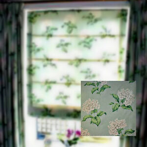 LAURA ASHLEY HOME HELIGAN EAU DE NIL READY MADE ROMAN BLIND 1.2M-W 1.5M-L