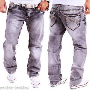 herren jeans chino hose dicke n hte naht cargo destroyed. Black Bedroom Furniture Sets. Home Design Ideas