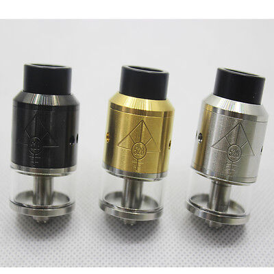 528 Customs Goon RDTA 24mm Rebuildable Dripping SS/BLACK/GOLD FREE SHIPPING