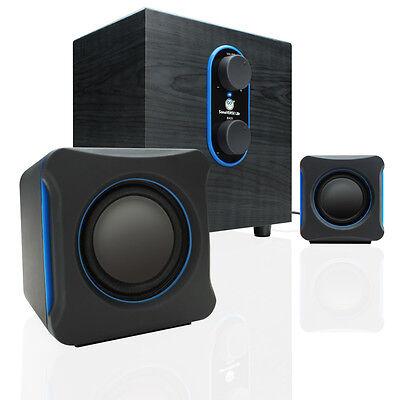Sonaverse Lbr Usb Powered Speaker System W/ Subwoofer & S...