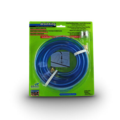 Drain King Hose And Faucet Adapter 157 Gt Water Products 10 Hose And Adapter