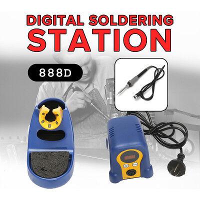 FX-888D Digital Thermostatic Soldering Station Solder Iron Welder +Welding Stand