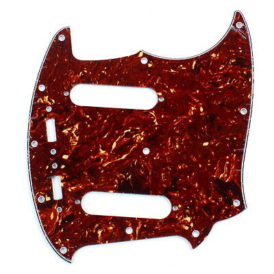 Red Classic Guitar - Guitar Pickguard Fits Mustang Classic Series style ,4ply Red Tortoise