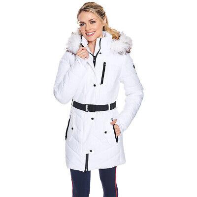 Womens Michael Kors Puffer Coat with Logo Belt Plus Size 2x