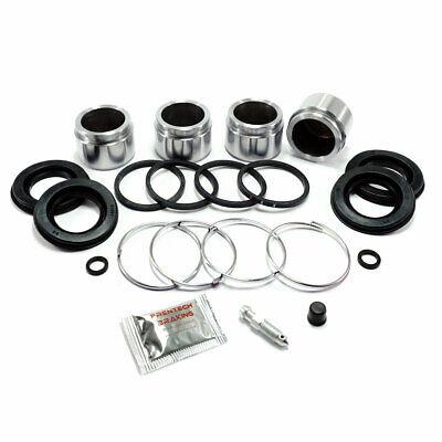 Front caliper repair kit & pistons (4 pot) Fits: Subaru Impreza inc WRX PK073AB