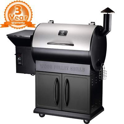 Z Grills Wood Pellet Bbq Smoker Grill With Auto Temp Control 700 Square Inch