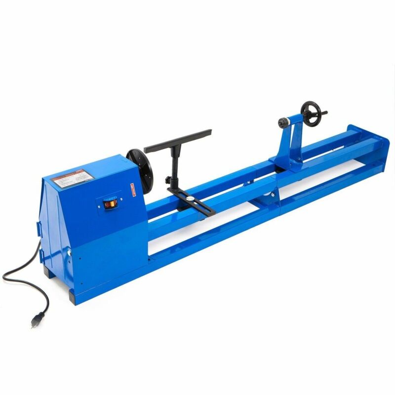Heavy Duty Industrial Table Top Electric Multi-use Wood Lathe Spin Machine Too