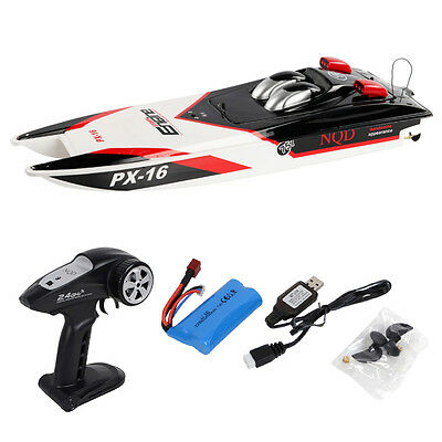 "PX-16 1:16 32"" 2.4G RC Speed Boat Storm Engine Radio Remote Control Electric Toy"