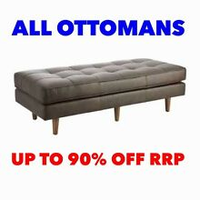 ALL OTTOMANS - UP TO 90% OFF RRP Granville Parramatta Area Preview