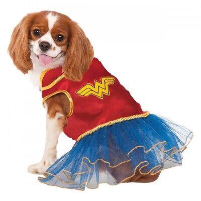 Wonder Woman Dog Costume Pet Halloween Fancy - Wonder Woman Kostüm Hund