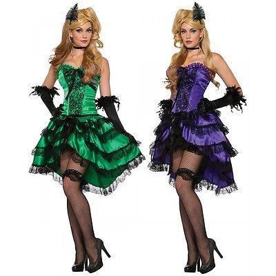 Saloon Girl Costume Adult Wild West Halloween Fancy - Saloon Girl Halloween Costumes